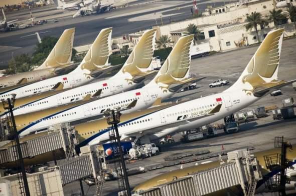 Gulf Air fleet