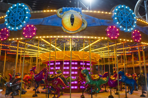 IMG Worlds Of Adventure Dino Carousel