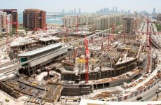 Construction on new Nakheel Mall almost 50% complete