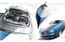 Rolls-Royce Reveals Bespoke Waterspeed Collection Sketch