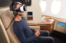 Qantas becomes first airline to offer virtual reality headsets