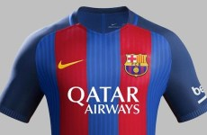 Qatar Airways logo back on FC Barcelona kit