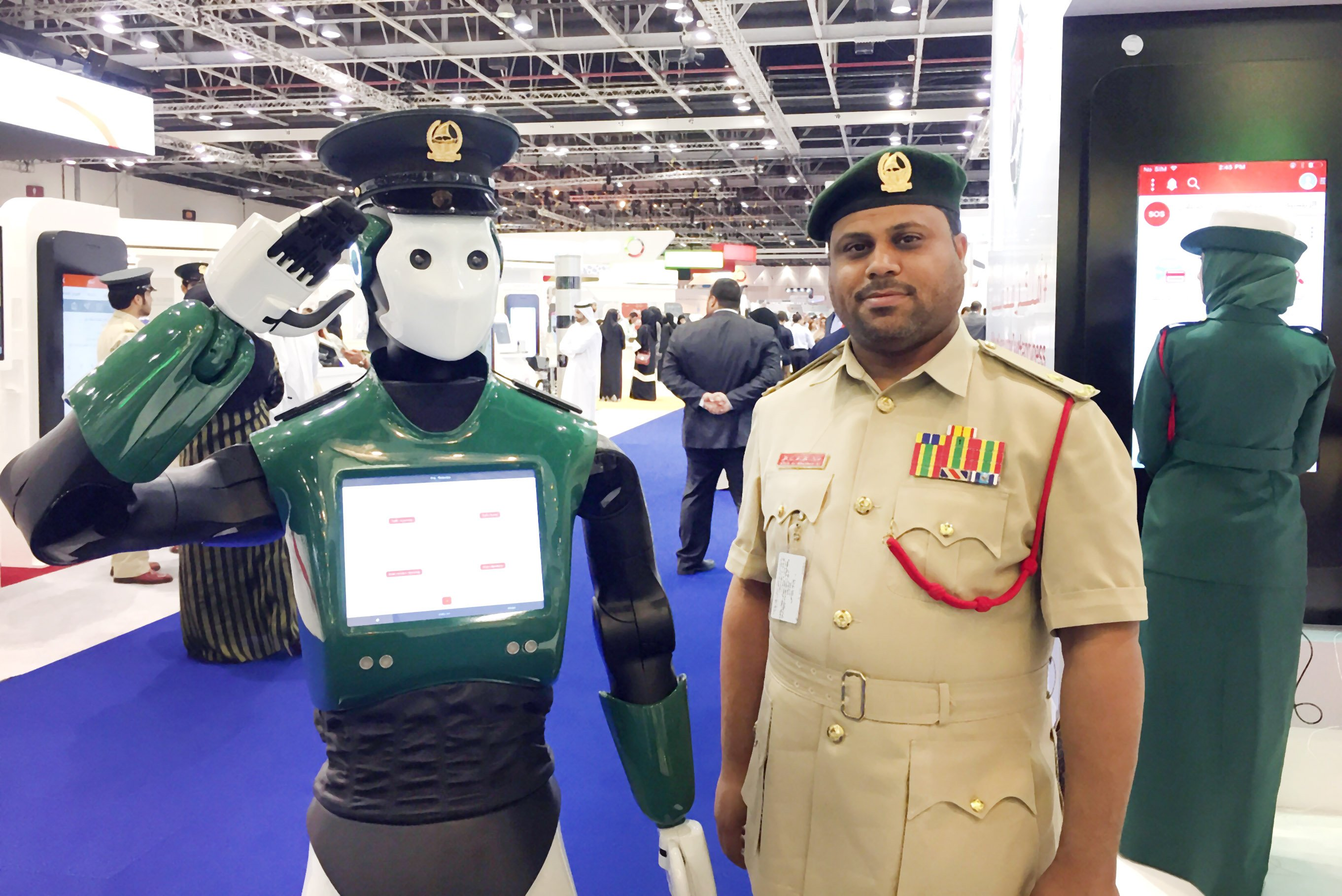 Dubai Police plans use of robots and artificial intelligence by 2020