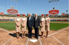 Emirates announces sponsorship of the Los Angeles Dodgers baseball team