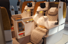 Emirates unveils new business class seat