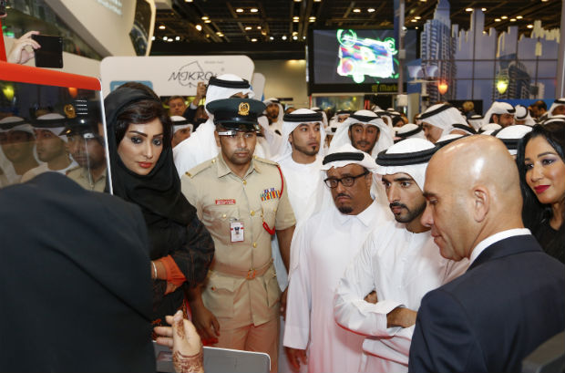 Sheikh Hamdan and the Dubai Police