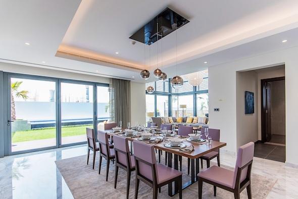 Four bedroom show-villa in Sobha Hartland