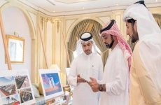 Ajman ruler reviews designs for new martyrs' memorial and square