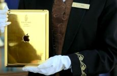 Burj Al Arab Rolls Out Gold iPads