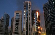 Large Fire In Dubai's Jumeirah Lakes Towers