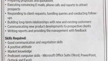 Business Development Executive Dubai Uae Gulf Career Hunt