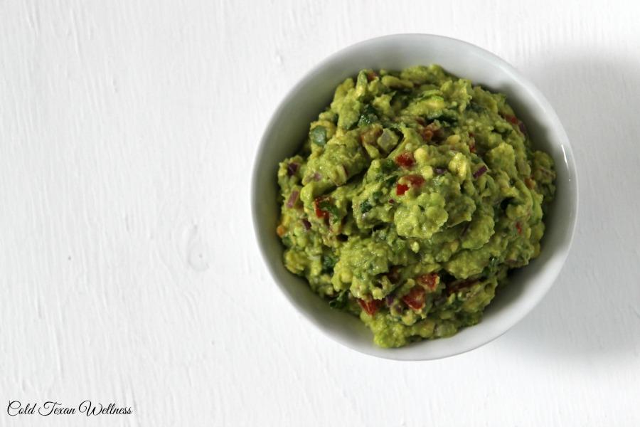 Healthy movie Snacks: Fresh Authentic Guacamole