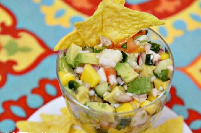 Zesty Tropical Ceviche
