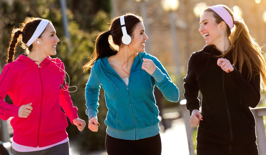 8 running Safety Tips. Keep yourself, your family, and your pets safe while enjoying a run outside