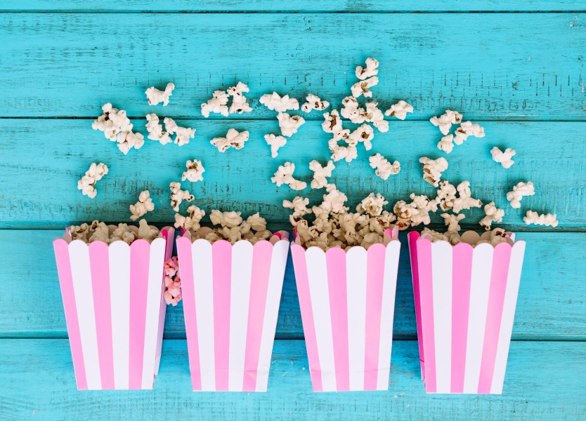 Healthy movie snacks