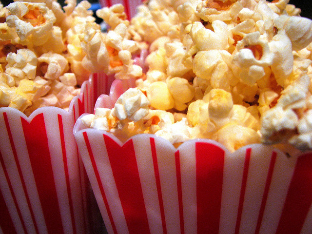 Guilt Free Healthy Movie Snacks