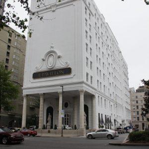 Le Pavillon Hotel in the French Quarter