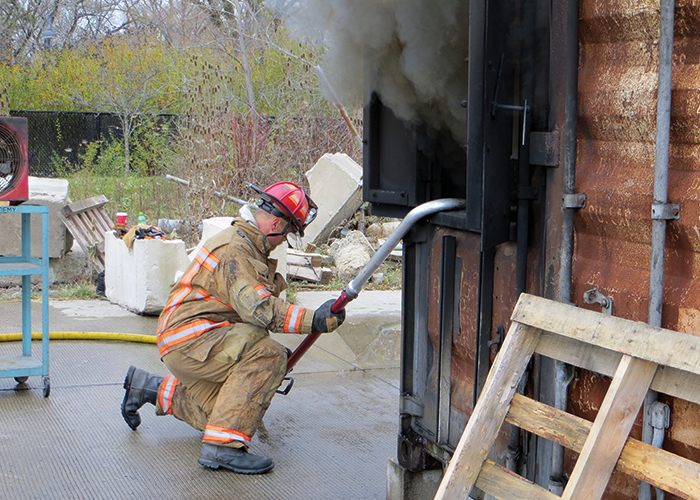 Naked Firefighting – Ever heard the term?