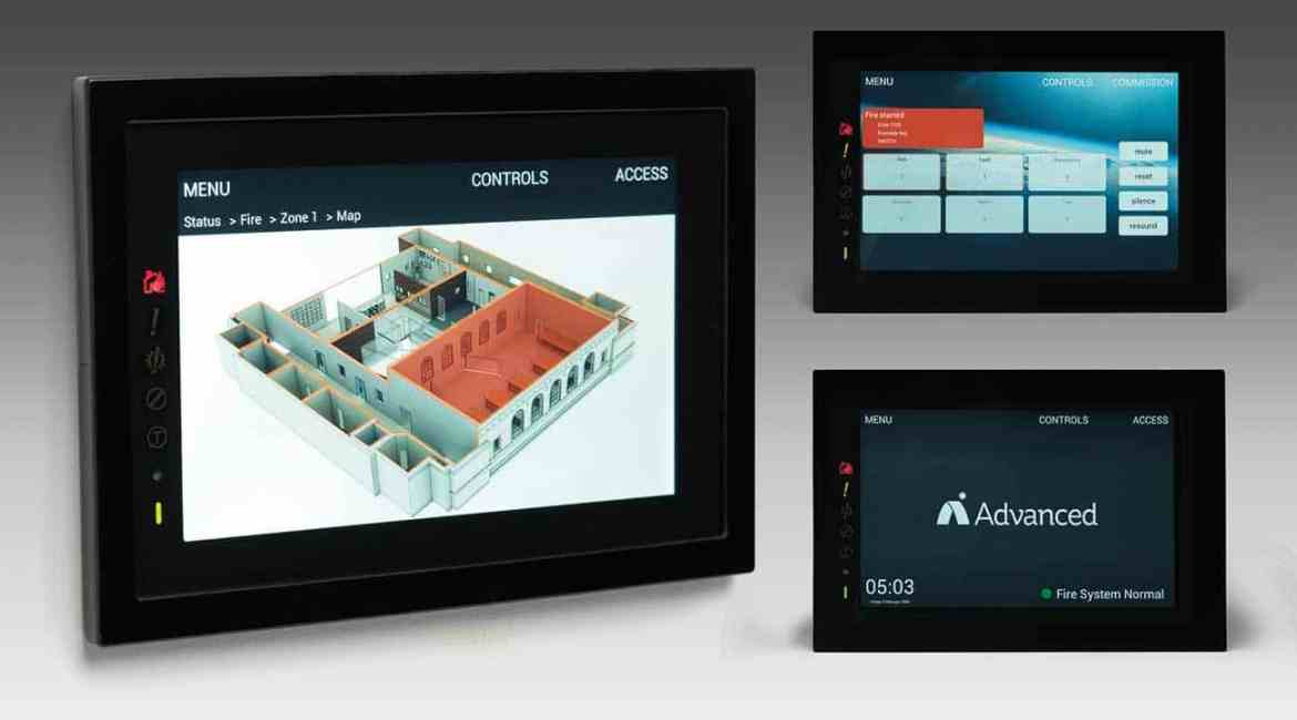 TouchControl, the new fire touchscreen repeater with Active Maps.