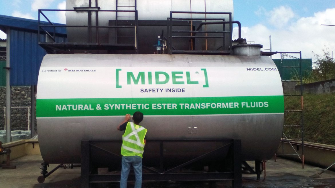 MIDEL tanker – The type of ester employed must be tailored to the needs at hand.