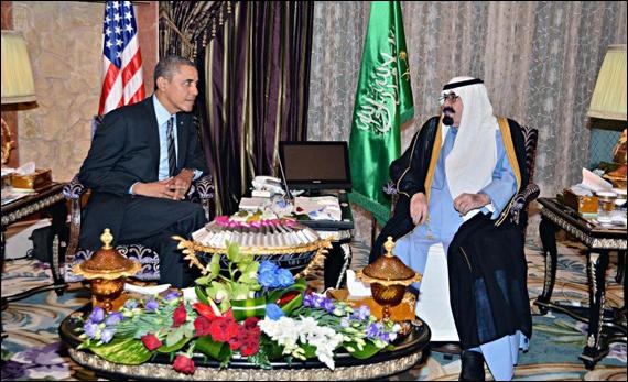 Obama_kingAbdullah2014