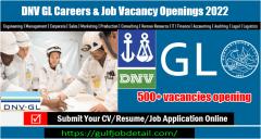 DNV GL Careers & Job Vacancy Openings 2022