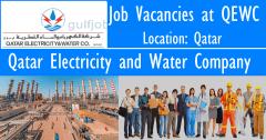 QEWC Qatar Jobs 2022|Qatar Electricity and Water Company Careers 2022