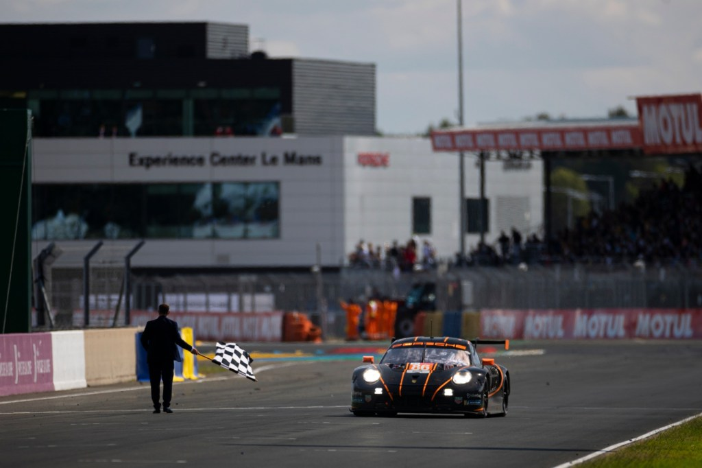 The Chequered Flag at Le Mans 2021