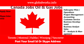 canda Jobs Oil and Gas