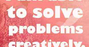 solve problems creatively