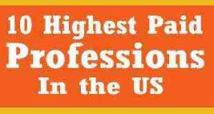 highest paid professions in the US