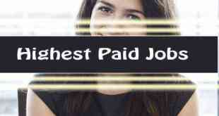 highest paid jobs