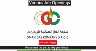 Oil & Gas Jobs, list of jobs Hiring, full time & part time