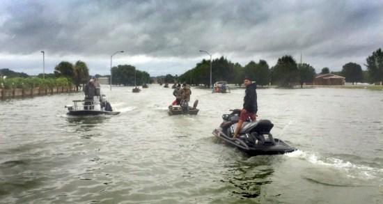 Gulf Oysterman Raz Halili Displays Heroics During Hurricane Harvey Flooding