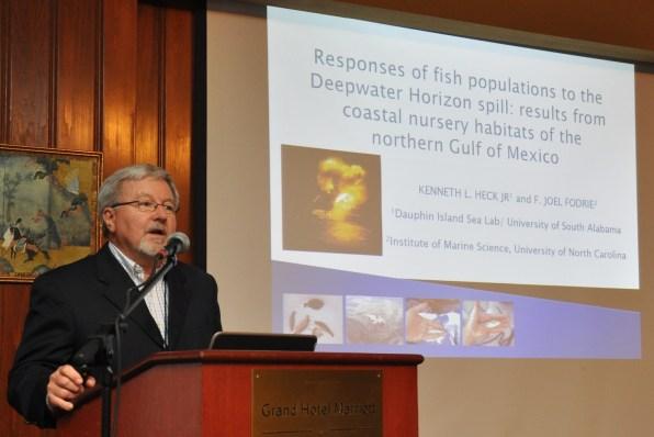 Fisheries oil spill seminar - heck