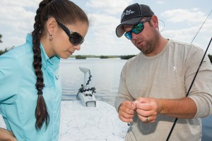 sea grant agent and fishing guide
