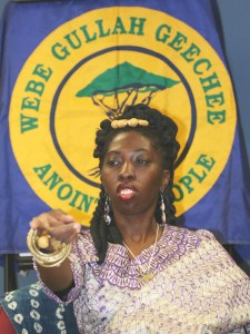 Queen Quet is the first elected head-of-state for the Gullah/Geechee Nation.  She is also a queen mother and spokesperson for Gullah/Geechees.
