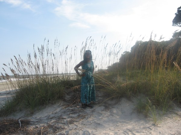 Queen Quet, Chieftess of the Gullah/Geechee Nation in the Sea Oats
