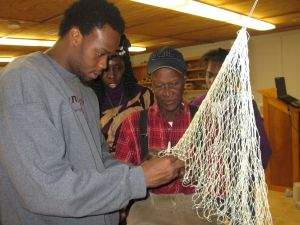Coastal Cultures Cast Net Making