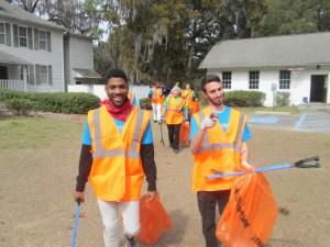Rollins College during Gullah/Geechee Volunteer Month