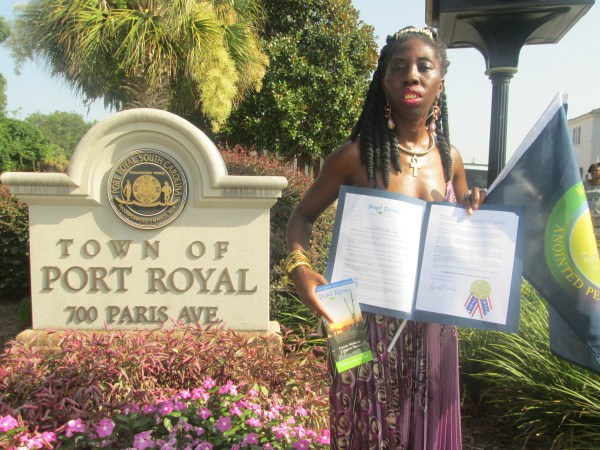 Queen Quet Receives Proclamation from Port Royal