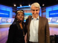 Queen Quet, Chieftess of the Gullah/Geechee Nation and Actor Sam Waterston