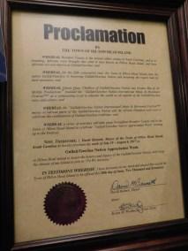 Hilton Head Gullah/Geechee Nation Appreciation Week Proclamation 2017