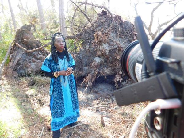 Queen Quet featured on The Weather Channel