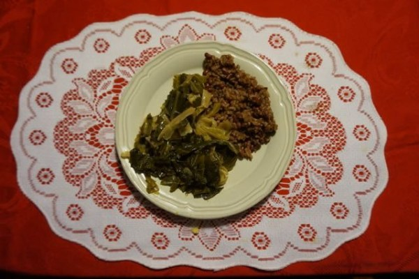 Hoppin John Greens & Cabbage