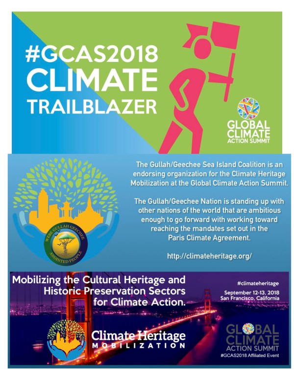 Gullah/Geechee Sea Island Coalition at Global Climate Action