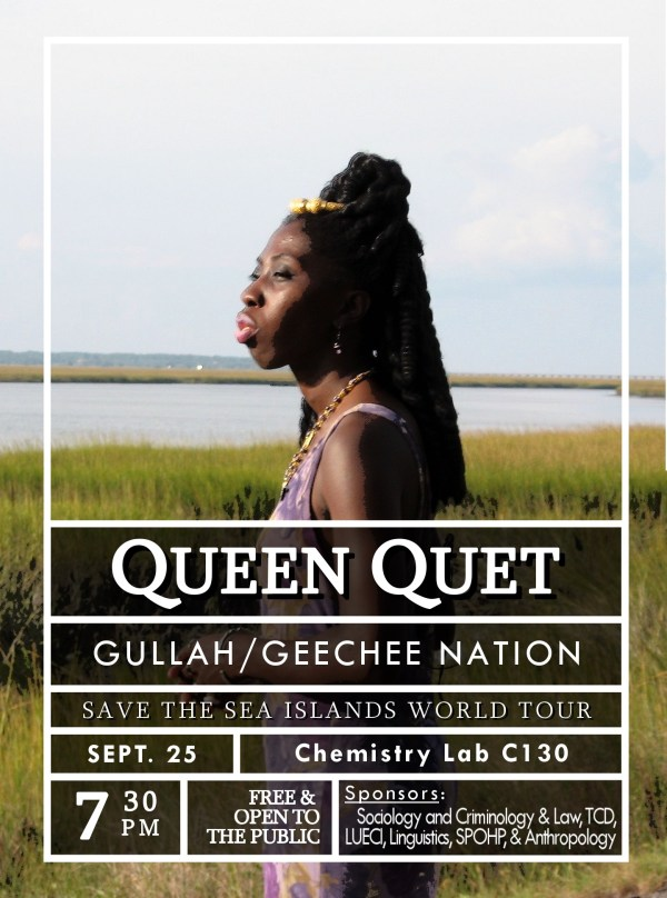 Queen Quet at UF Poster