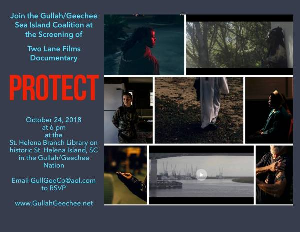 Protect Documentary Screening on St. Helena Island, SC
