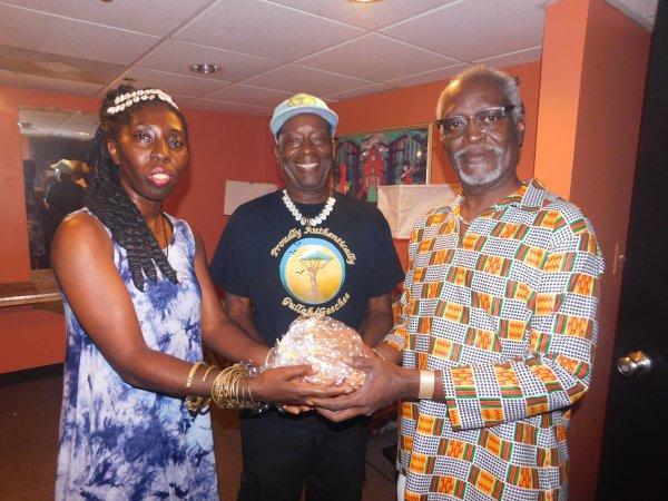 Queen Quet, Kwame Sha, Winston Ferrell United