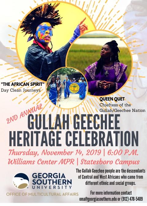 Gullah/Geechee Heritage Celebration 2019